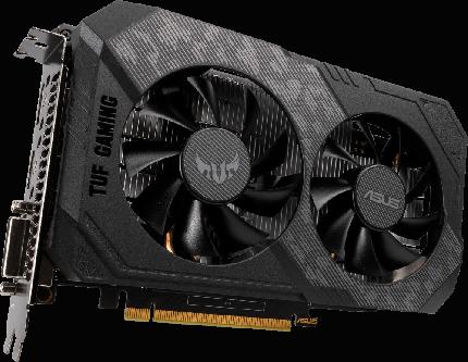 Видеокарта ASUS TUF Gaming Nvidia GeForce GTX 1650 (TUF GTX1650-4GD6-P-GAMING)