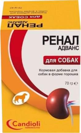 Пищевая добавка для собак Candioli Ренал Адванс, 70 г