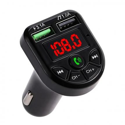 FM-модулятор трансмиттер автомобильный c USB портом / плеер / зарядка / Bluetooth