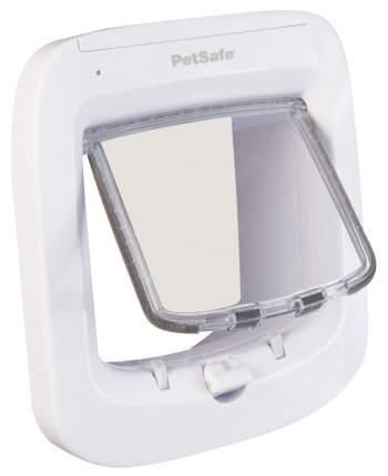 Дверца для кошки StayWell с микрочипом, белый, 14,6 х 13,5 см