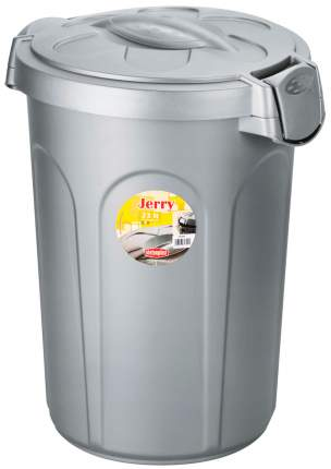 Контейнер для корма Stefanplast  Jerry серебряный 8 кг 23 л