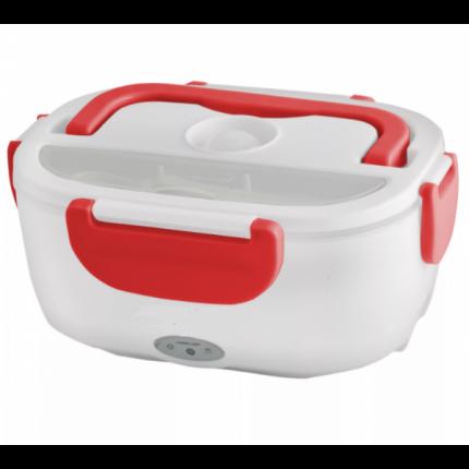 Контейнер для еды с подогревом Electronic Lunch Box от сети 220В (Красный)