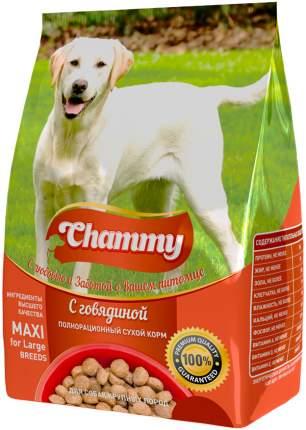 Сухой корм для собак Chammy Maxi , говядина, 18кг
