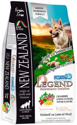 Сухой корм для собак Forza10 Legend NEW ZELAND, беззерновой, ягненок, оленина, 11.33кг