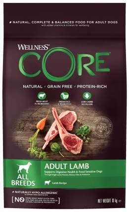 Сухой корм для собак Wellness CORE ADULT, ягненок, фрукты, 10кг