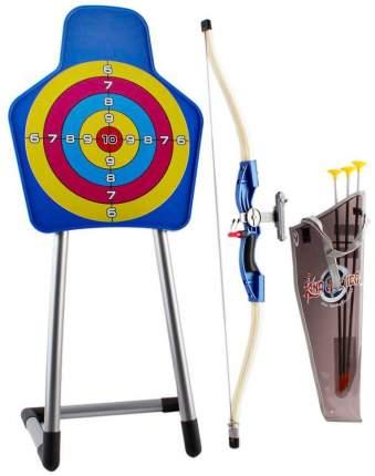 Набор стрельба по мишени Спортивные игры (лук со стрелами и мишель), 9922-21