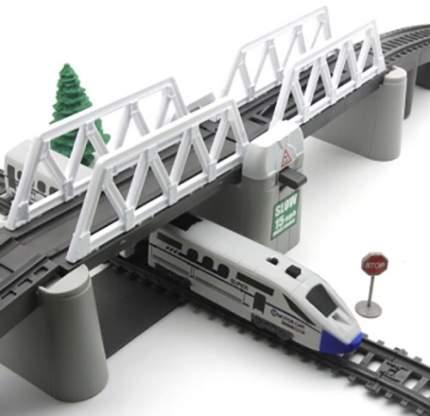 Железная дорога с раздвижным мостом, скоростной поезд, длина полотна 914 см, BSQ-2184