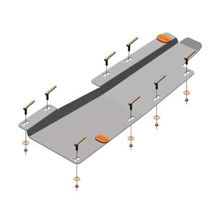 Защита топливопровода AKFeco для chery tiggo4 19 2.0/tiggo7 19 2.0 сталь 2 мм alf0219.1st