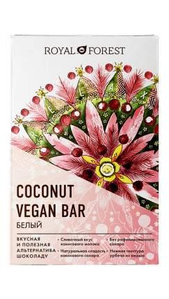 Веганский шоколад Royal Forest белый White Vegan Coconut Bar