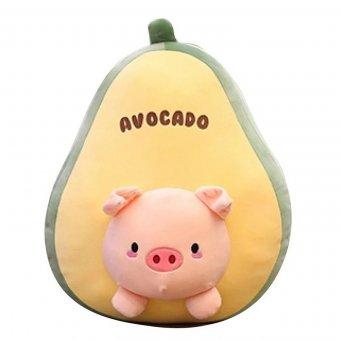 Плед-подушка Авокадо Поросенок