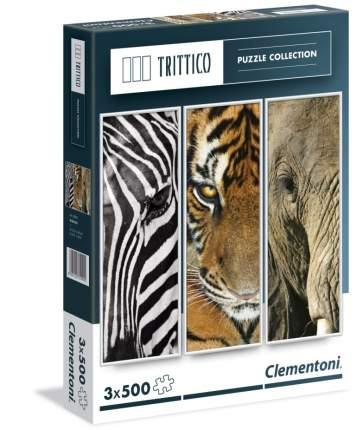 Пазл 3Х500 деталей Животные