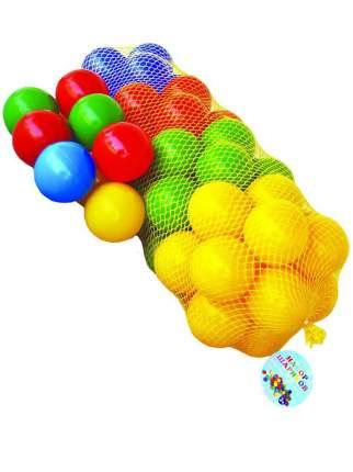 Набор шариков Юг-Пласт 8 см, 56 шт