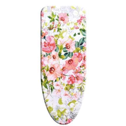 Чехол для гладильной доски VARMAX, 135*48 см (M), PINK FLOWERS
