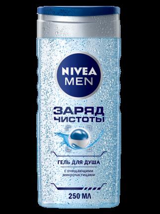 Гель для душа NIVEA Заряд чистоты для мужчин 250 мл