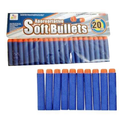 Набор мягких снарядов, 20 шт., 28x1,5x14,5 см