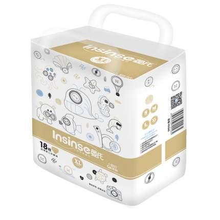 Подгузники INSINSE Q6 (13+ кг) 18 шт. супертонкие XL (12)