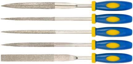Надфили алмазные 5х180х70 мм, набор 5 шт. FIT 42175
