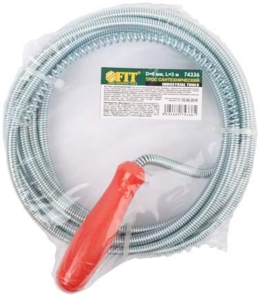Трос сантехнический для чистки труб 3 м x 6,0 мм 74336