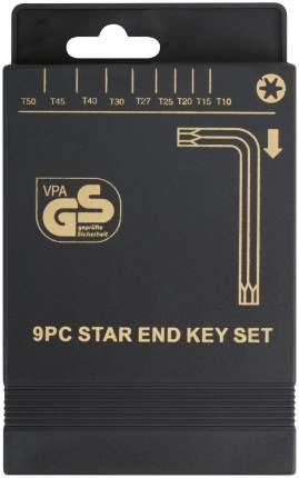 """Ключи """"звездочки"""" Т10-Т50, 9 шт. FIT 64022"""