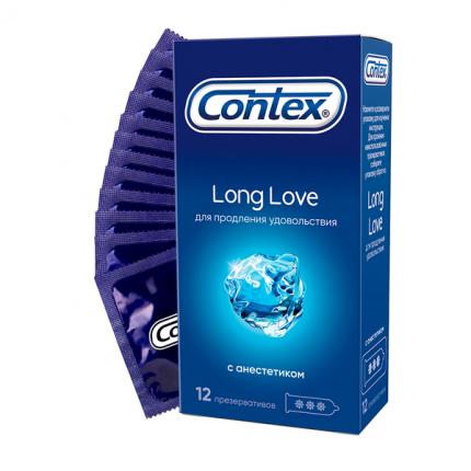Презервативы Contex Long Love на силиконовой основе