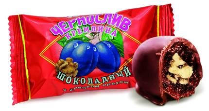 Чернослив Кремлина шоколадный с грецким орехом дизайн матрешка 250 г