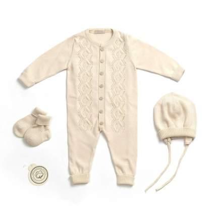 Комплект одежды RBC МЛ 474350 бежевый р.62