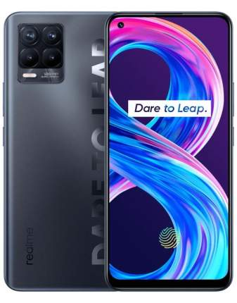 Смартфон Realme 8 PRO 6+128GB Punk Black (RMX3081)