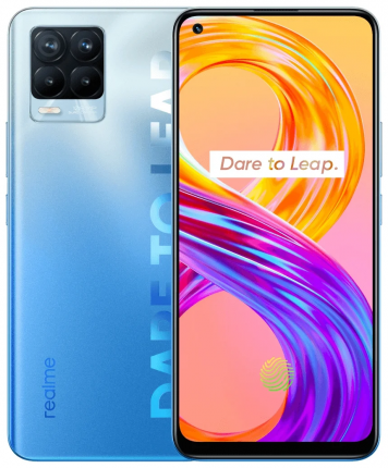Смартфон Realme 8 PRO 6+128GB Infinite Blue (RMX3081)