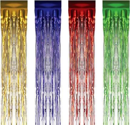 Дождик новогодний Каз Ком Большой 131899 150 х 7,5 см разноцветный цвет в ассортименте
