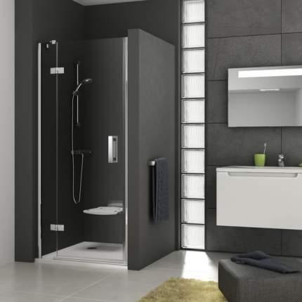 Душевая дверь Ravak SMSD2-100 см левый блестящий профиль прозрачное стекло 0SLABA00Z1