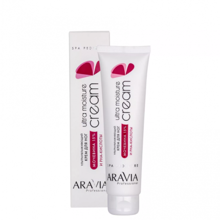 Крем для ног с мочевиной (15%) и PHA-кислотами Ultra Moisture Cream, 100 мл