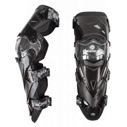 Мотонаколенники Scoyco K-12 Black