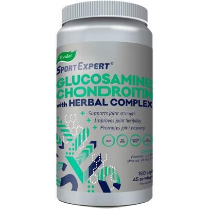 SportExpert Глюкозамин Хондроитин для суставов и связок 760 мг 180 капсул Эвалар