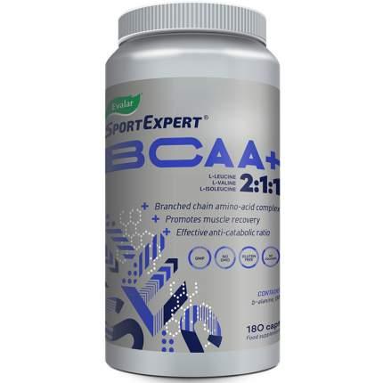 SportExpert БЦАА+ 510 мг 180 капсул Эвалар