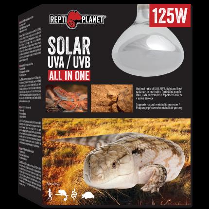 Ультрафиолетовая лампа для террариума Repti Planet Solar 125W UVA & UVB
