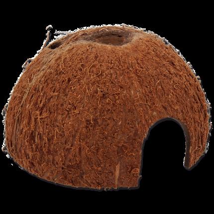 Декорация для аквариума Repti Planet Кокос, скорлупа кокоса, 12х12х7 см