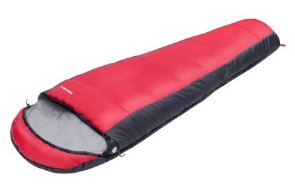 Спальный мешок Jungle Camp Track 300 grey/red, левый
