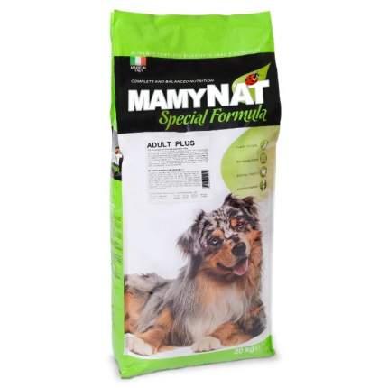 Сухой корм для собак MamyNAT Adult Plus, для взрослых собак, говядина, курица,  20кг