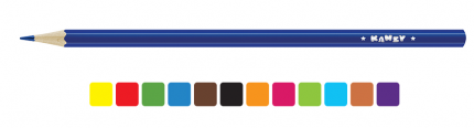 """Набор цветных карандашей """"Мишка"""", 12 цветов"""