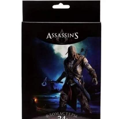 """Фломастеры """"Assassin""""s Creed"""", 24 цвета"""