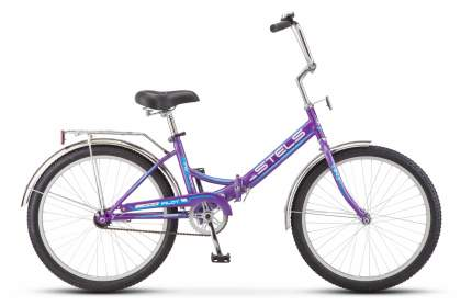 """Велосипед Stels Pilot 710 24 Z010 2018 16"""" фиолетовый"""