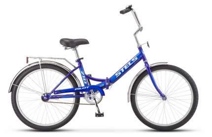 """Велосипед Stels Pilot 710 24 Z010 2018 16"""" синий"""