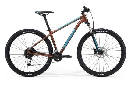 Велосипед Merida Big.Nine 100-3x 2021 L bronze/blue