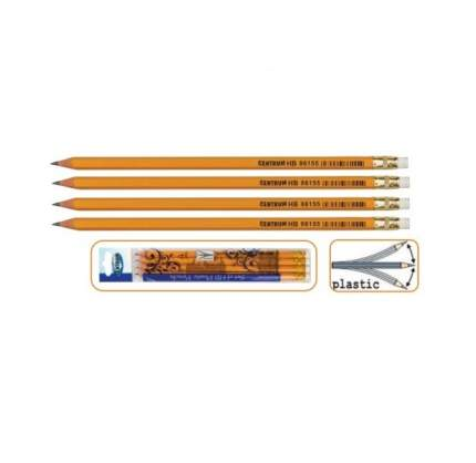 Набор чернографитных карандашей, 4 штуки