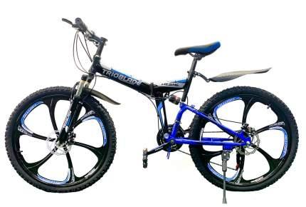 "Велосипед TrioBlade TLD3053BR 2021 17"" black/blue"