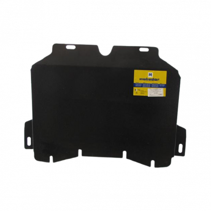 мотодор защита  радиатора hyundai hd 72 3,3;3,903-/hd 78 3,903- 2 мм, сталь motodor.20903
