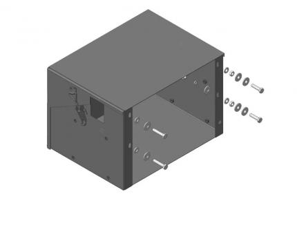антивандальный кожух аккумулятора hyundai hd72 3,303-/hd78 3,903- 1,5 мм, motodor.20913