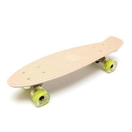 Скейтборд Triumf Active пластик TLS-401L Beige