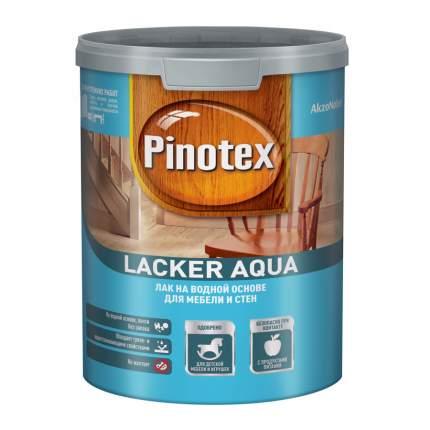 Лак Pinotex Lacker Aqua 70 на водной основе для мебели и стен глянцевый 1 л