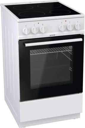 Электрическая плита GORENJE EC5151WG White/Black